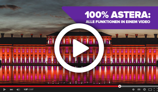 100% ASTERA: Alle Funktionen in einem Video